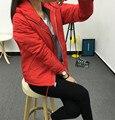 Venda quente 2016 mulheres nova jaqueta de manga longa mulheres jaqueta vento Breaker C205