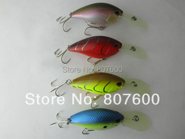 Scratched Japan Fishing Wobbler Deep Water Shad Crankbait 58mm/14g ...