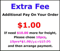 Extra Fee For Freight Or Other Extra Cost
