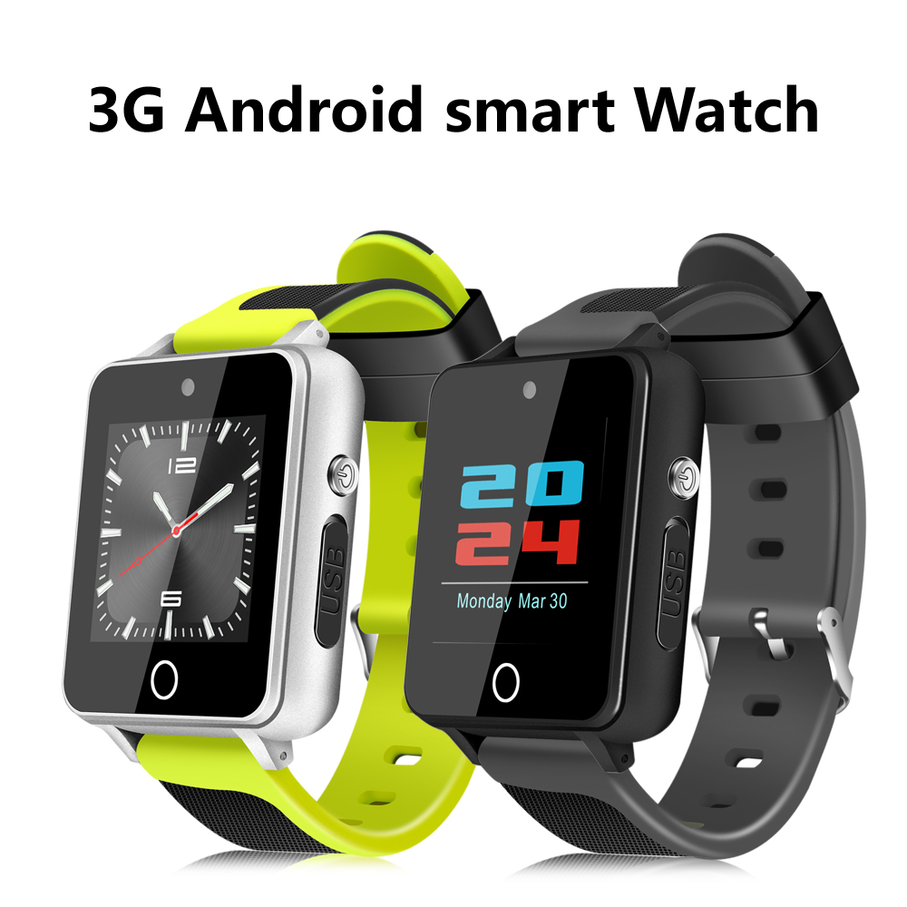 DEHWSG 3G Smart Watch H9 MTK6580 Quad Core RAM 1GB ROM 16GB Android Watch Phone HD Front Camera GPS WiFi TF Card MP3 MP4 Player