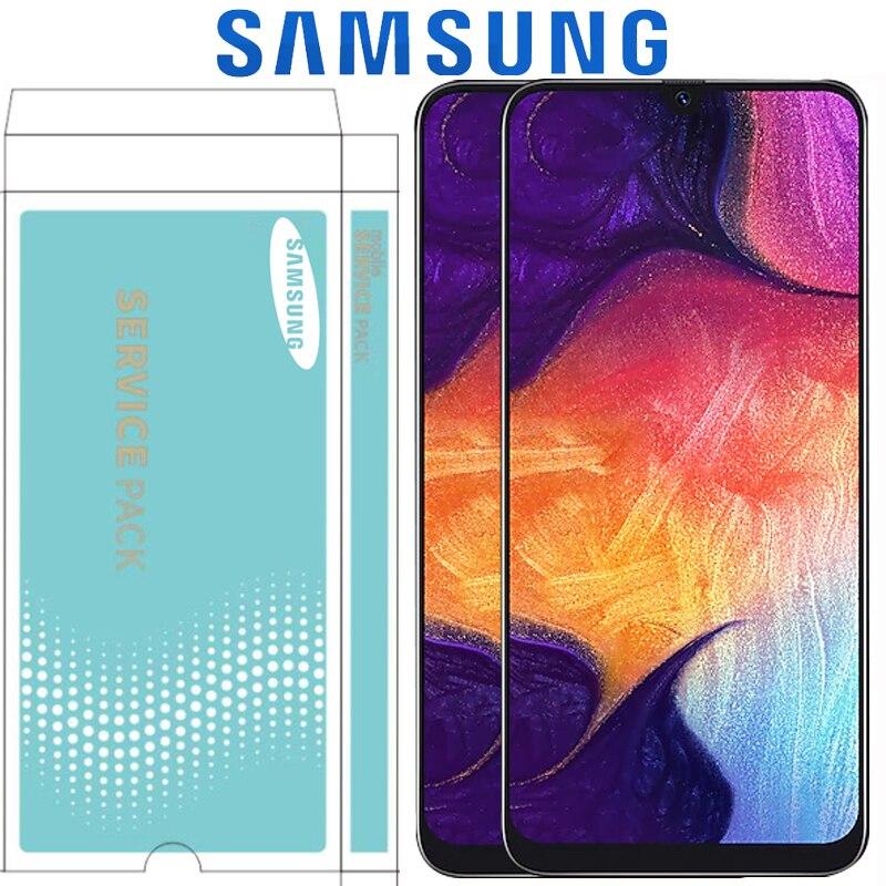 """6.4 """"oryginalna Super AMOLED do Samsung galaxy A50 2019 A505F/DS A505F A505FD A505A ekran dotykowy Digitizer zgromadzenia z ramą w Ekrany LCD do tel. komórkowych od Telefony komórkowe i telekomunikacja na AliExpress - 11.11_Double 11Singles' Day 1"""