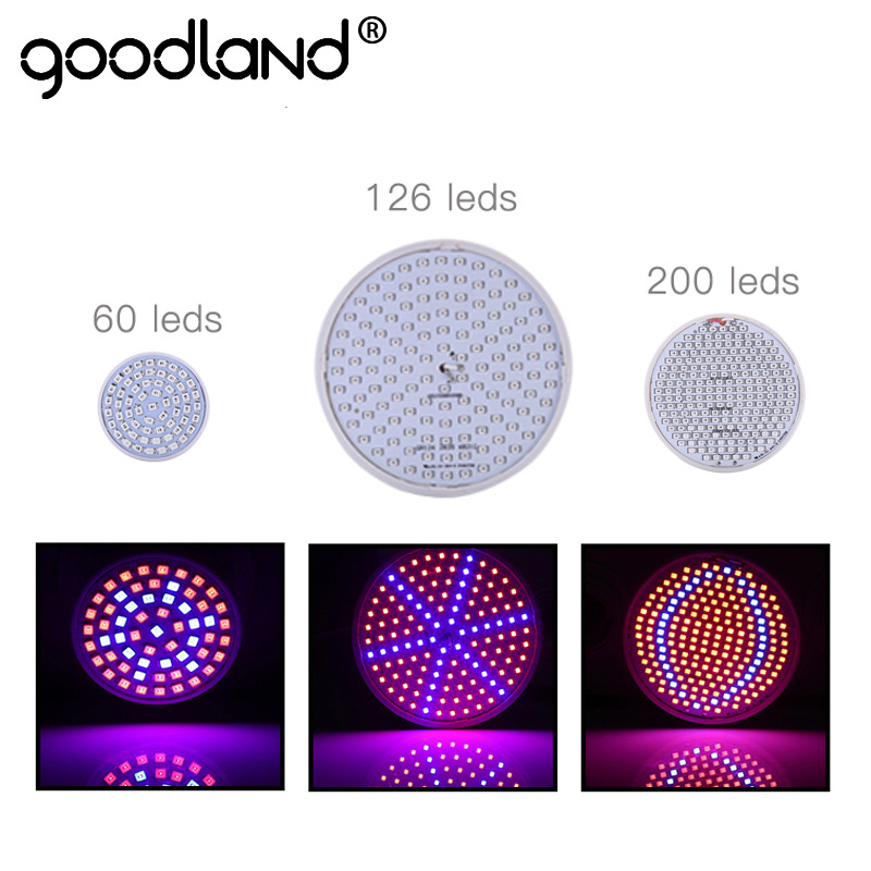 Goodland LED Grow Light Full Spectrum Phyto Lamp E27 Plant Lamp For Indoor Greenhouse Hydroponic Vegetable Flower Fitolampy led grow light full spectrum fitolampy hydroponics phyto lamp sunlight for vegetable flower seedings greenhouse plant lighting