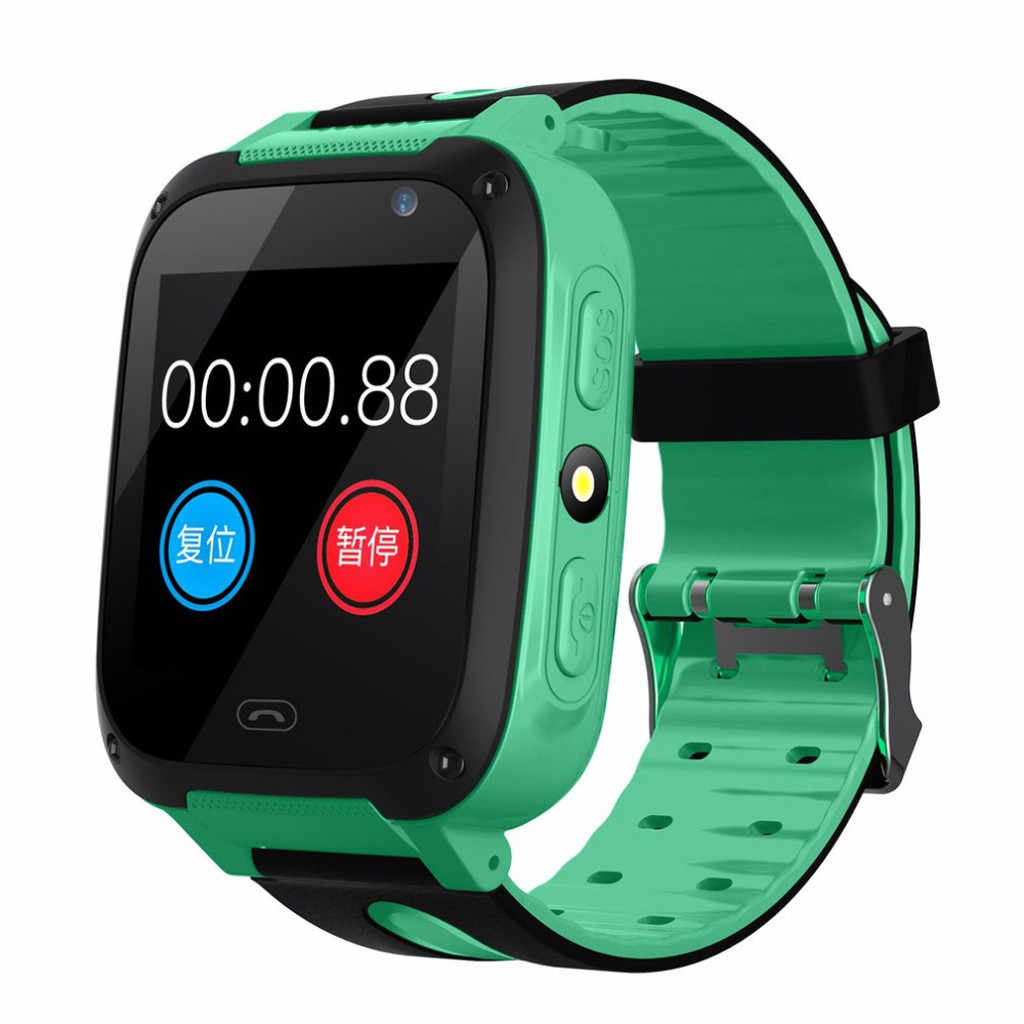 Waterproof Children's Smart Watch Phone Tracker GPS Positioning Smartwatch Phone Call Answer SOS Smart Watch for Children