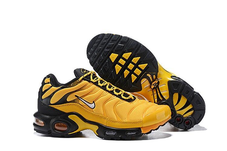 Original auténtico Nike Air Max Plus de los hombres zapatos zapatillas de deporte al aire libre transpirables deportes calzado de diseñador 2019 nuevo