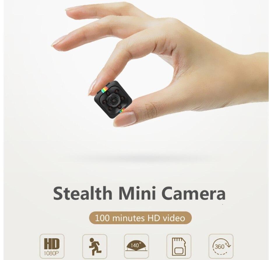 SQ11 Mini Camera HD Camcorder HD Night Vision Mini Camera 1080P Aerial Sports Mini DV Voice Video Recorder