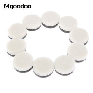 Image 2 - 20 pçs 1 Polegada 25mm lã polimento polimento enceramento almofada de pintura do carro cuidados polidor roda disco polonês para broca dremel ferramenta rotativa