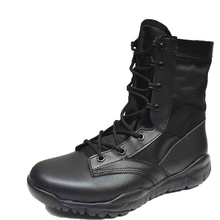 Men Ankle Work Boots Combat Shoes Super Light Tactics Boots Desert Military Shoes Outdoor Breathable Climbing Hiking Boots