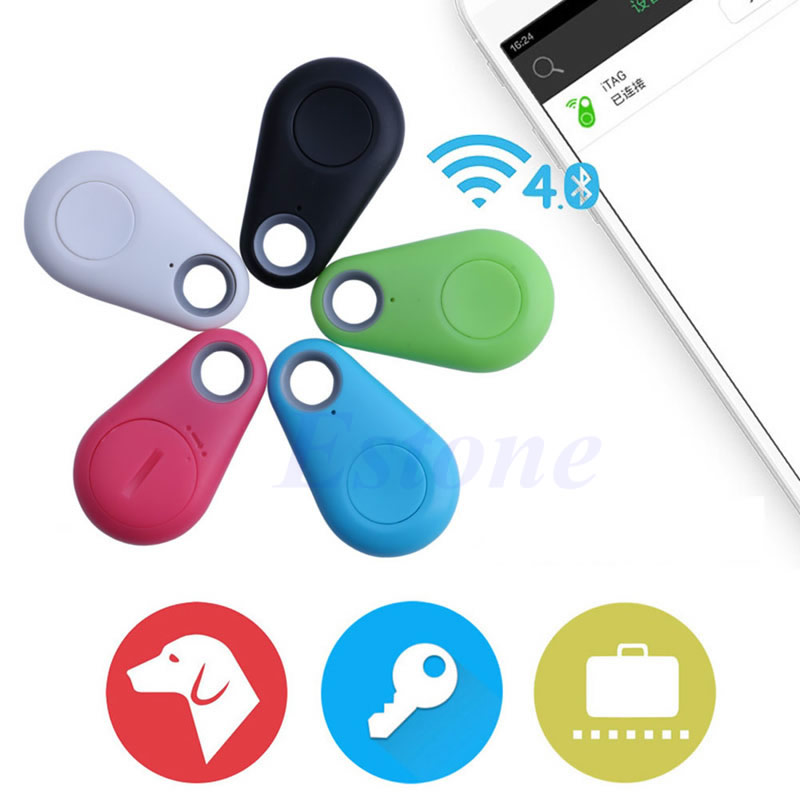 OOTDTY Smart Tag Tracker Bag Pet Child Wallet Key Finder Bluetooth GPS Locator Alarm-m30
