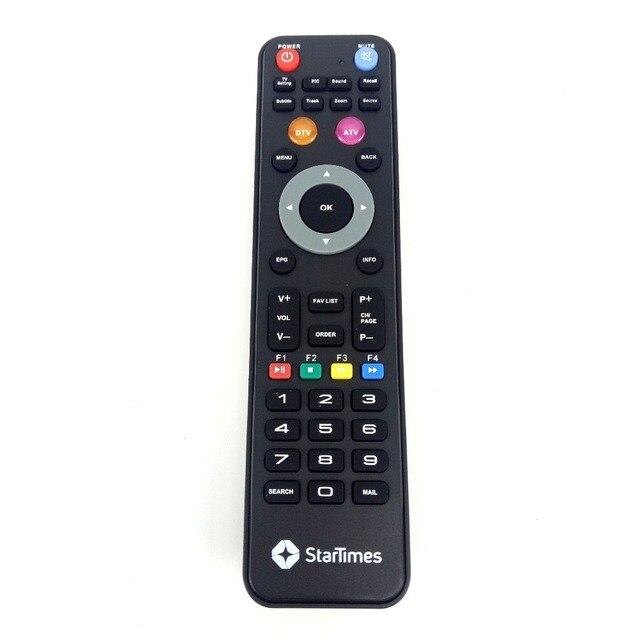 Новый оригинальный пульт дистанционного управления для StarTimes D TV A TV пульт дистанционного управления ler V12843 HJ160806 TV Fernbedienung