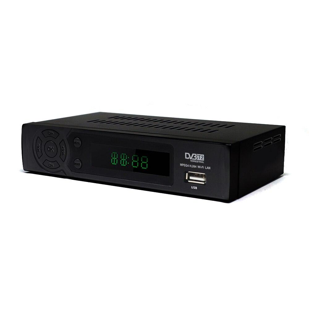Image 3 - Full HD DVB T2 цифровой наземный приемник поддерживает Youtube FTA 1080 P RJ45 USB WIFi DVB T2 ТВ бокс тюнер приемник ТВ приставка-in Приемник спутникового ТВ from Бытовая электроника