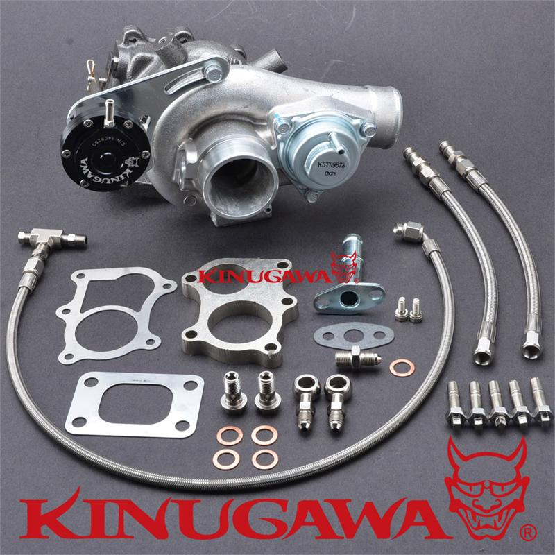Kinugawa Turbocharger TD04L 14T 5cm T25 Internal Gated w/ BOV 250HP