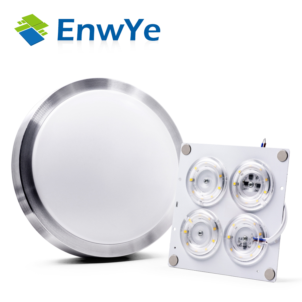 EnwYe LED Ceiling Lights AC220V LED Chip No Need Driver 12W 24W 36W 45W And Led Module Replacing Energy Saving Lamps