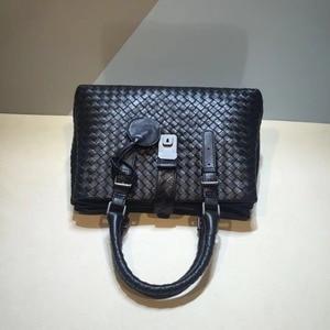 Image 3 - Женские сумки, роскошные сумки, женская дизайнерская кожаная сумка Nu Zhen, сумка на плечо из натуральной кожи, женская сумка