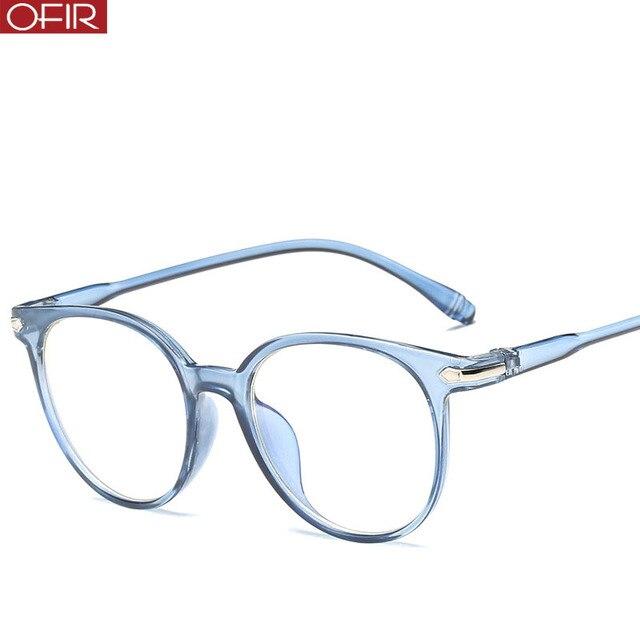 e7da77da4c6b7 OFIR Men s Transparent Color Glasses Frame Personality Flat Mirror Ladies Brand  Designer Retro Travel Driving Eyewear