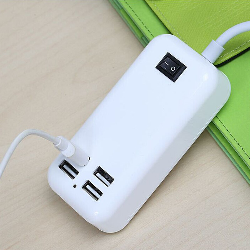 4 Port USB Charger For Hauwei P20 Lite P10 Plus Mate 10 Lite P9 P8 P Smart Wall Adapter Charging EU Plug Charger Phone Universal