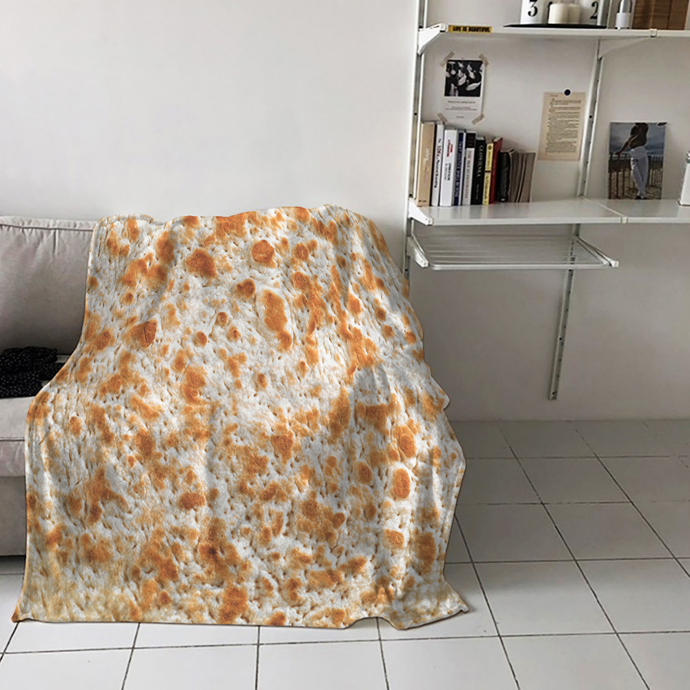2019 Nieuwe Stijl Gewogen Burrito Deken Tortilla Gooi Deken Grote Maat Super Zachte Fleece Home Decor Auto Sofa Kantoor Quilts Beddengoed Kids Play