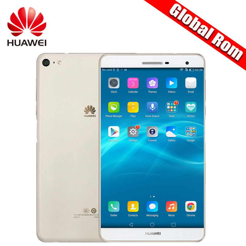 Global ROM Huawei MediaPad M2 Lite 7.0 Inch 4GLTE Phone Call Android Tablet PC Snapdragon 615 Octa Core 3GB RAM Fingerprint 13MP