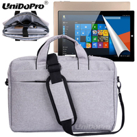 UNIDOPRO Waterproof Messenger Shoulder Bag Case for Teclast X16 Plus, Tbook 11 10.6inch Spin 2 in 1 Tablet Sleeve Cover