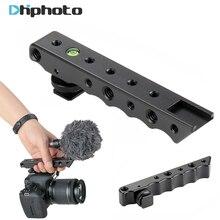 """Ulanzi стабилизации видео ручка сверху Холодный башмак Extender пластина с 1/4 """"3/8"""" Нитки для Canon Nikon Olympus Pentax DSLR Камера"""