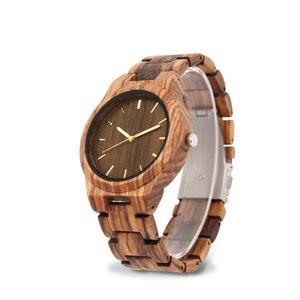 Image 4 - 나무 시계 남성 신사 시계 clok 남자 relogio masculino 럭셔리 남자 브랜드 남자 기념품 relogio 시계