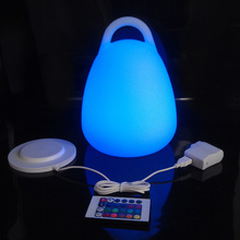 На батарейках RGB светильник ing портативный светодиодный светильник для бара Настольная лампа для ресторана лампа для мероприятий и вечерние принадлежности 10 шт