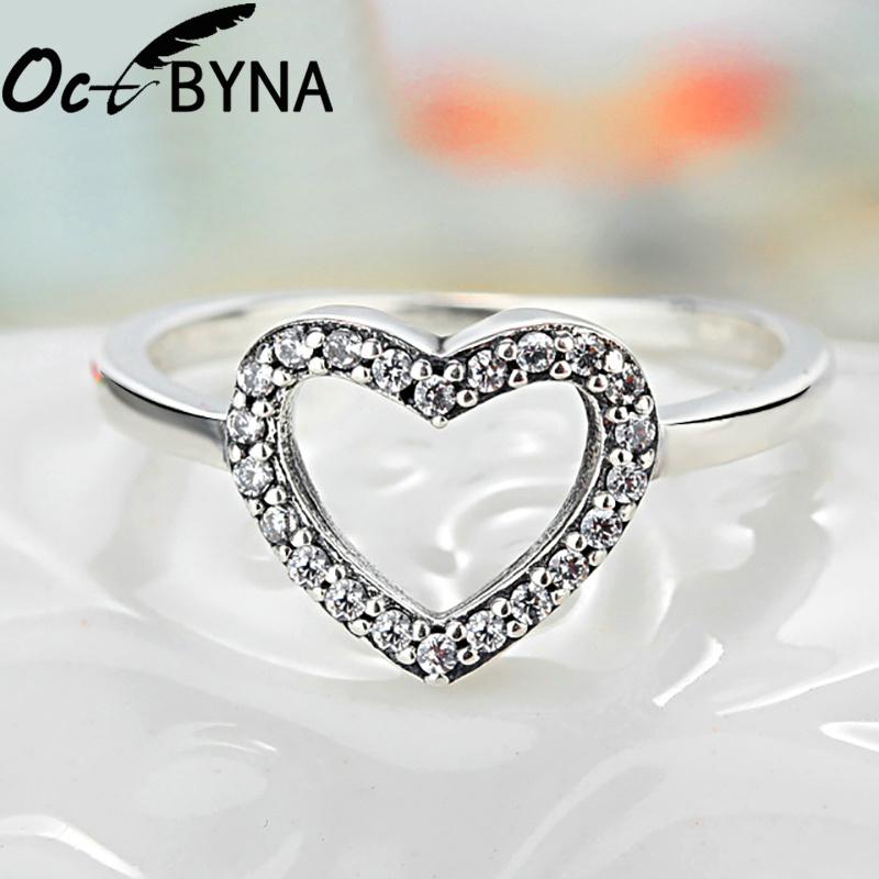 Octbyna Горячая Корона и в форме сердца стильные брендовые кольца для женщин вечерние кольца на палец для женщин очаровательные подарочные украшения Прямая поставка - Цвет основного камня: A5