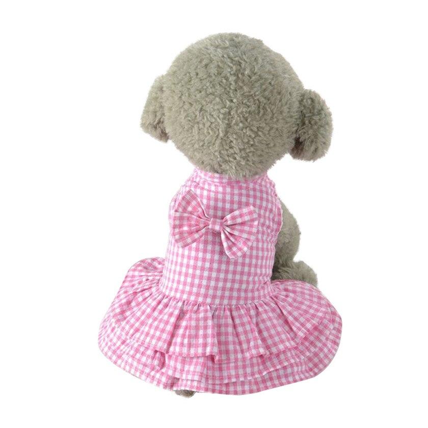 Практичный 2018 Новая мода горячая собака Pupp милый сладкий Pet Puppy Dog одежда короткая юбка платье оптовая продажа ...