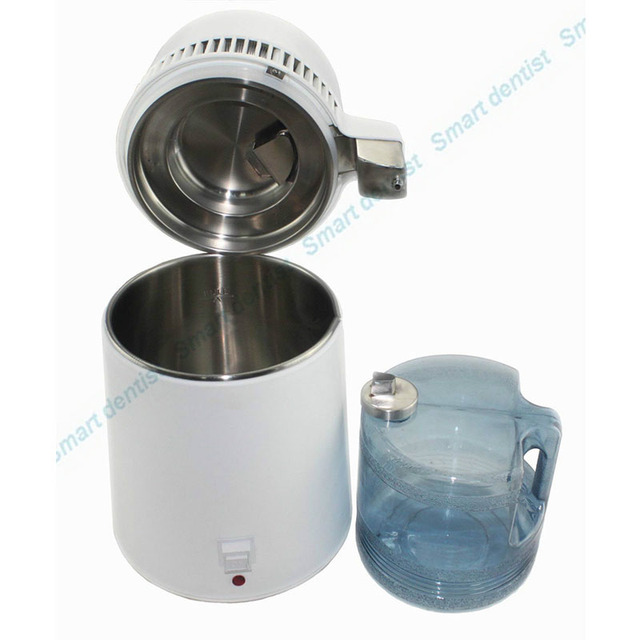 2016 4L Dental Medical Hospital Water Distiller Purifier Stainless Internal Filter