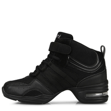 Square dance shoes woman Jazz modern shoes Stage performance soft bottom increased fitness aerobics dancing shoes women