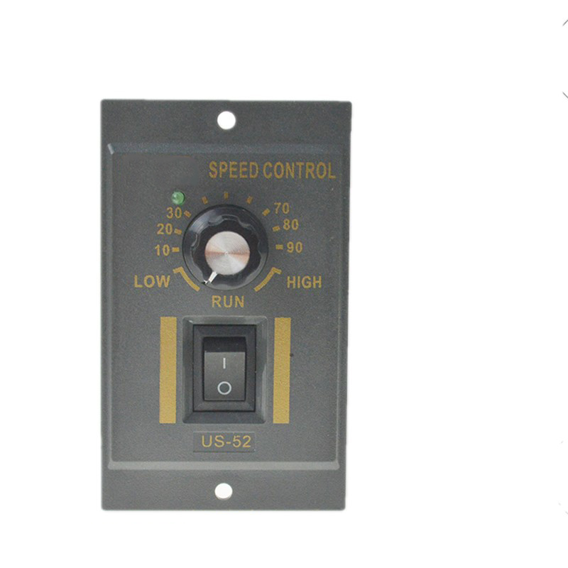 US-52 AC Speed Motor Controller Regulated Speed Forword Backword Controller 90W 120W 180W AC220V Frequency Conversion