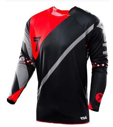 2019 bike mtb jersey downhill shirt bike man mx motocross jersey in Cycling Jerseys from Sports Entertainment