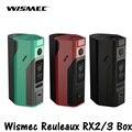 Original Wismec Reuleaux RX2/3 TC 150 W/200 W Caja Mod Firmware Actualizable Reuleaux RX2 3 TC RX23 Mod VS RX200S Vape Vapor batería