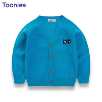 Children Cardigan Candy Color Kids Sweaters 2018 Newest Design Knit Sweater Long Sleeved 2 8 Yrs