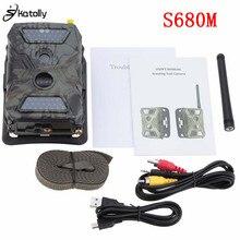 """Skatolly S680M 940NM 12MP HD 1080 P Jagd Kamera 2,0 """"LCD Trail Kamera Mit MMS GPRS SMTP GSM Infrarotjagdkamera"""