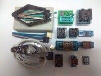 V9.00 XGecu TL866II USB Universal Programmer /Bios/ECU 1.8V nand flash 24 93 25+12pcs Support 15118 ICs better than TL866cs/A