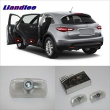 Liandlee Car Door Ghost Shadow Lights For Infiniti FX 2007~2013 Courtesy Doors Lamp / Brand Logo LED Projector Welcome Light liandlee plug and play car courtesy doors lights for volvo s80 2013 2014 brand logo projector welcome light ghost shadow lamp
