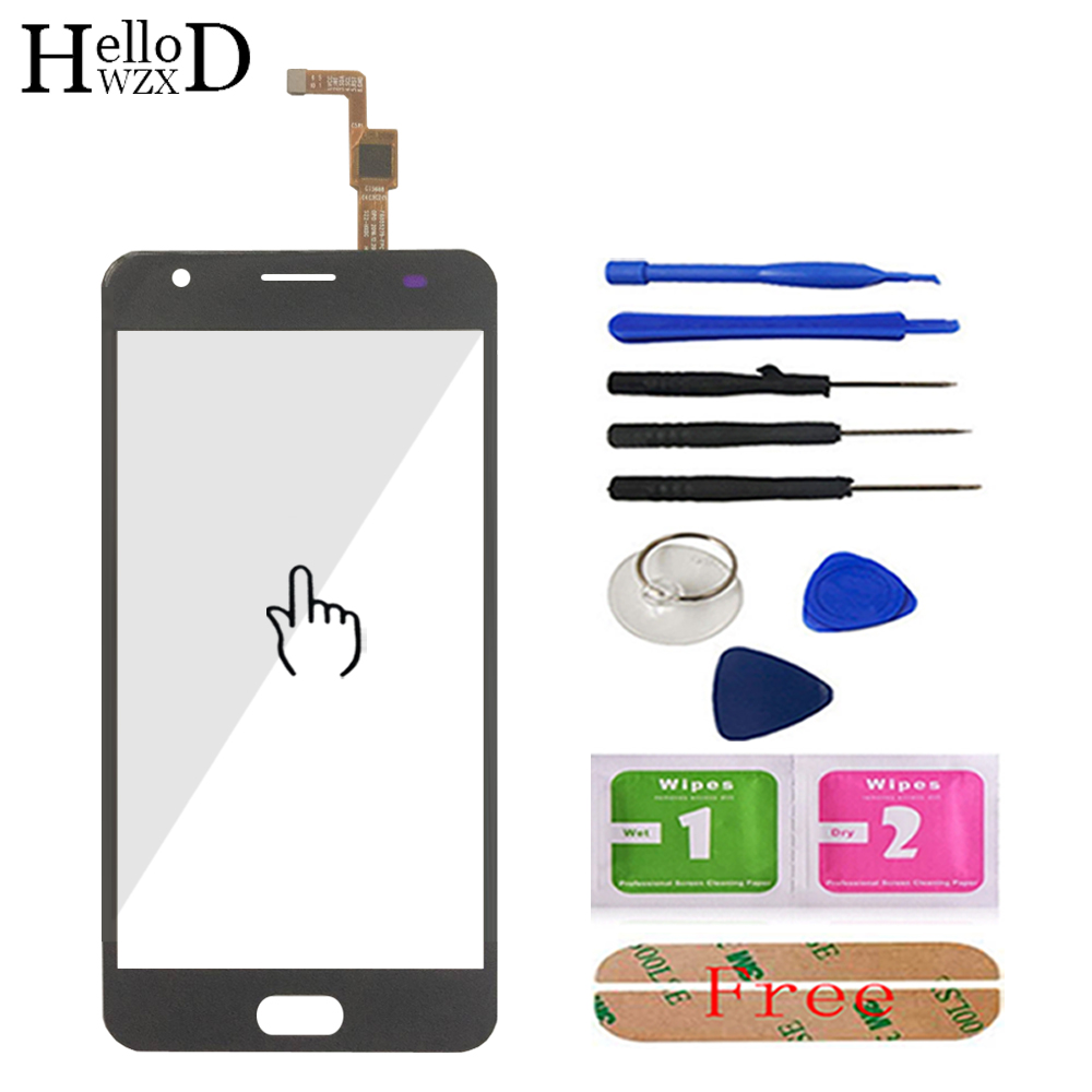 5.5'' Mobile Phone Touch Glass For <font><b>Oukitel</b></font> <font><b>K8000</b></font> Touch <font><b>Screen</b></font> Glass Digitizer Panel Front Glass Lens Sensor Tools Free Adhesive image
