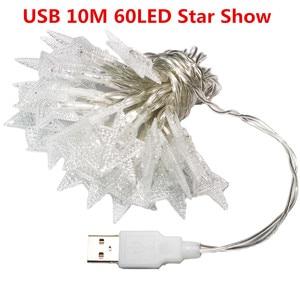 Image 5 - OSIDEN כדור מחרוזת אורות כוכבים USB 5 V 10 M 60LED חג תאורה חיצוני עמיד למים עבור מסיבת חתונת חג המולד גן