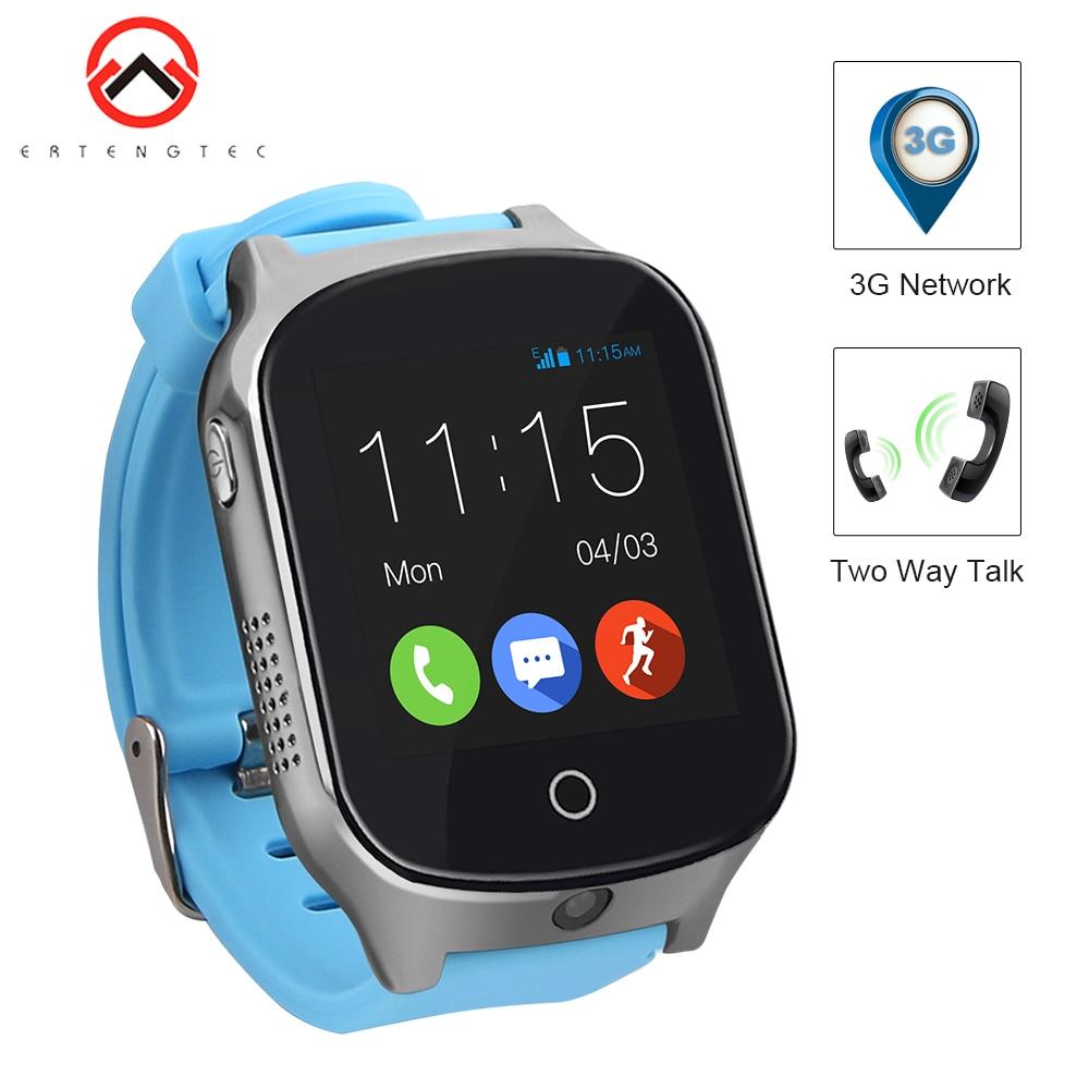 Smart Watch Kids A19 SOS Two Way Talk WIFI Real time 3G Tracker Waterproof Camera Kid