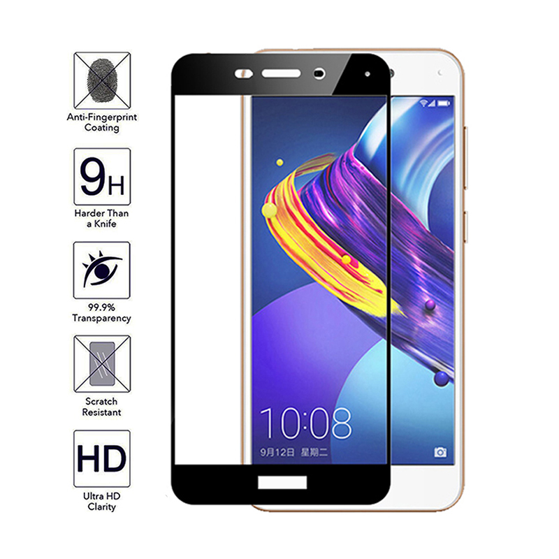 Image 3 - Protective Glass On For Huawei Honor 6c pro case Full Cover Screen Protector For Honor 6x 6a Tempered Glass Film honor6 6 a c x-in Phone Screen Protectors from Cellphones & Telecommunications