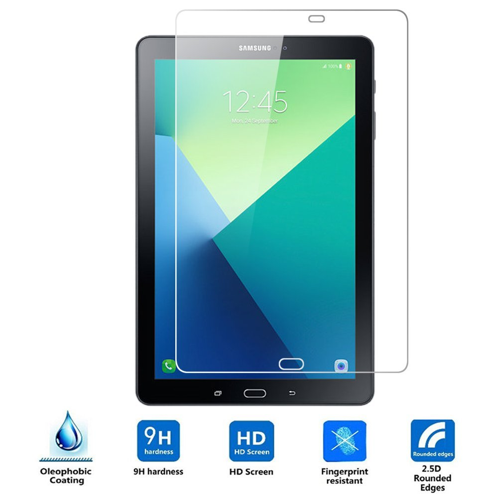 Glass Screen-Protector Samsung Galaxy Clear Ultra For Tab-A With S-Pen P585 P580