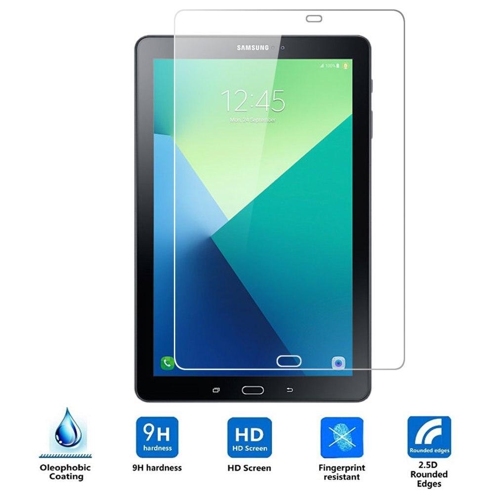 Ultra Clear Tempered Glass för Samsung Galaxy Tab A 10.1 2016 med S Pen 2016 Glas för P580 P585 Skärmskydd Glas Film