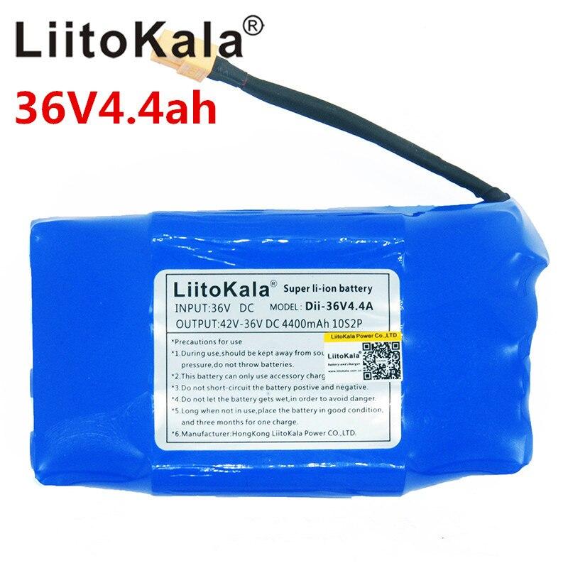 4.4AH 36 v Rechargeable Li-ion Batterie Pack 4400Mh Cellules Au Lithium-Ion pour Équilibre Auto Scooter Électrique Monocycle Hoverboard