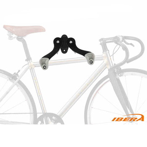 Image 2 - IBERA Wall Mount Hook Hanger Bike Bicycle Rack Garage Space Saver Metal Holder