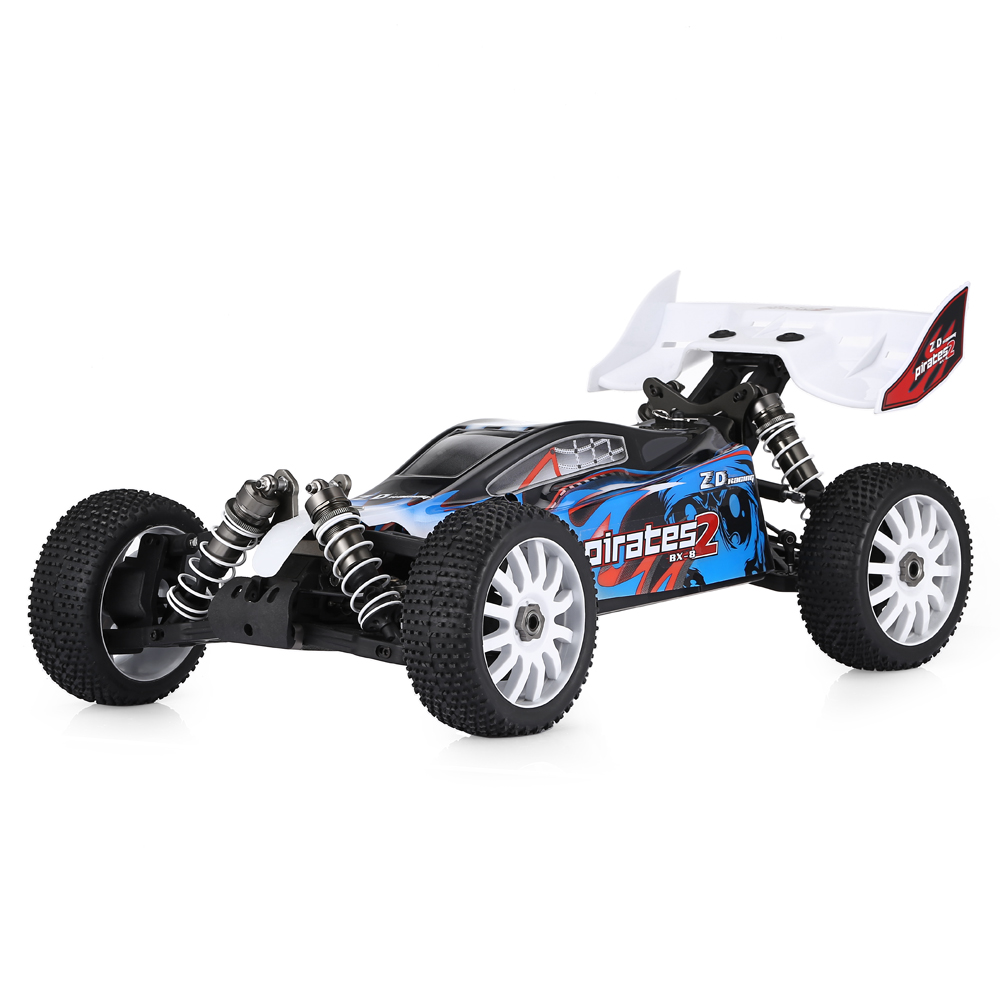 ZD 1/8 2.4G 4WD Brushless Electric Buggy High Speed 80km/h Ready To Go RC Car Big Scale RC Models For Boys Kids Gifts src rc car 1 8 scale electric car 4wd brushless motor rc buggy sep0811pro high speed