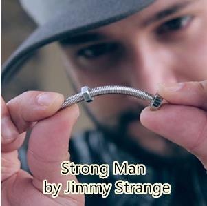 2018 New Arrivals Strong Man bending screw Magic tricks magic props mentalism magic close up street Magia Toy,Joke,Classic Magie