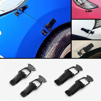 2X Racing Car Bumper Security Hook Lock Clip Kit For Bmw E46 E90 E60 E39 E36 F30 X6 M Lada Granta Chevrolet Cruze Lacetti Lexus image