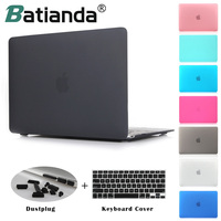 Crystal Clear Matte Rubberized Hard Case Cover For Macbook Pro 13 3 15 4 New Pro