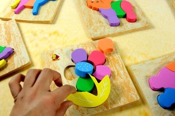 Soft Foam Puzzles Set