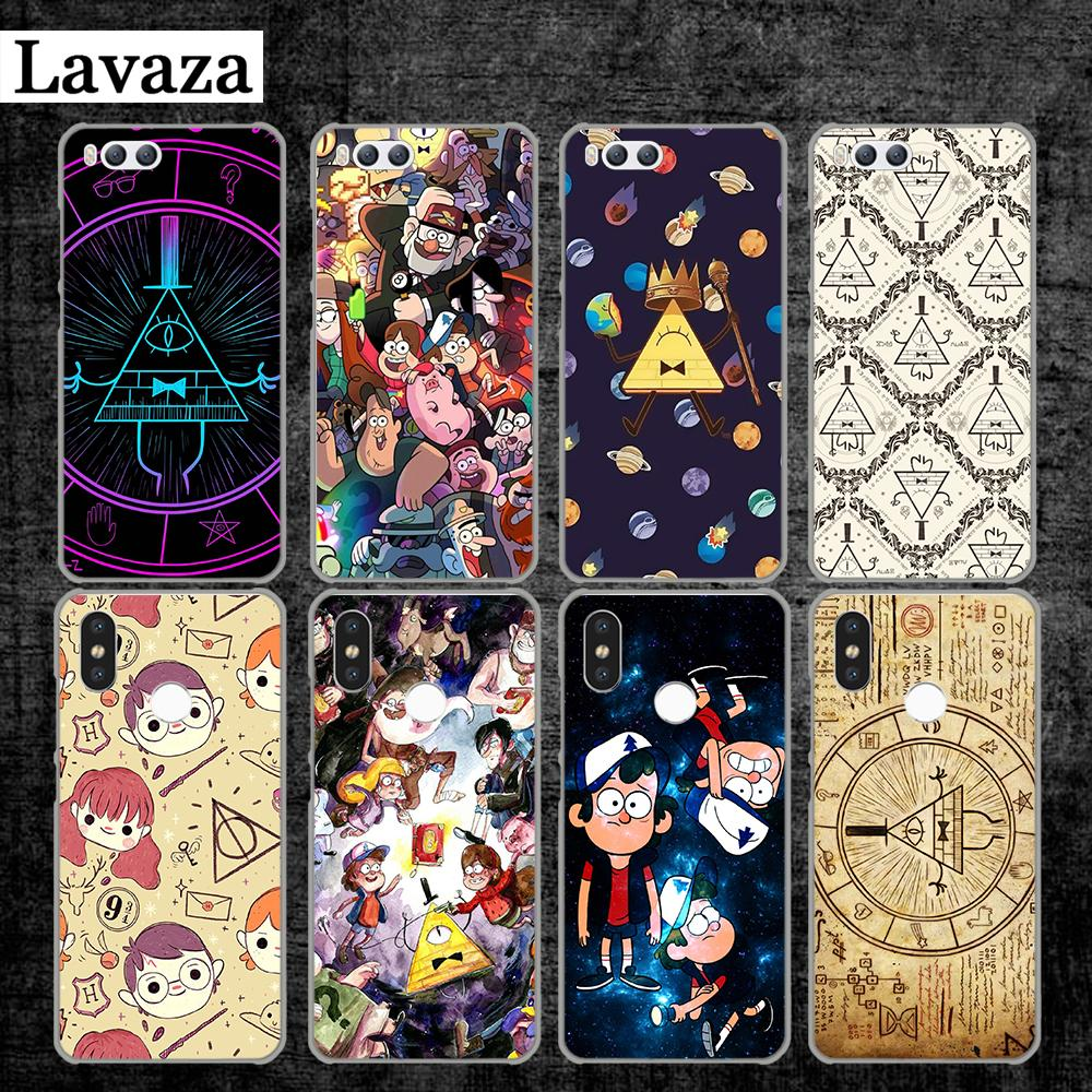 Lavaza Gravity Falls pig Printing Drawing black Hard Case for Xiaomi MI 5 5S 6 8 9 SE Lite F1 A1 A2 5X 6X Mix 2S MAX 3